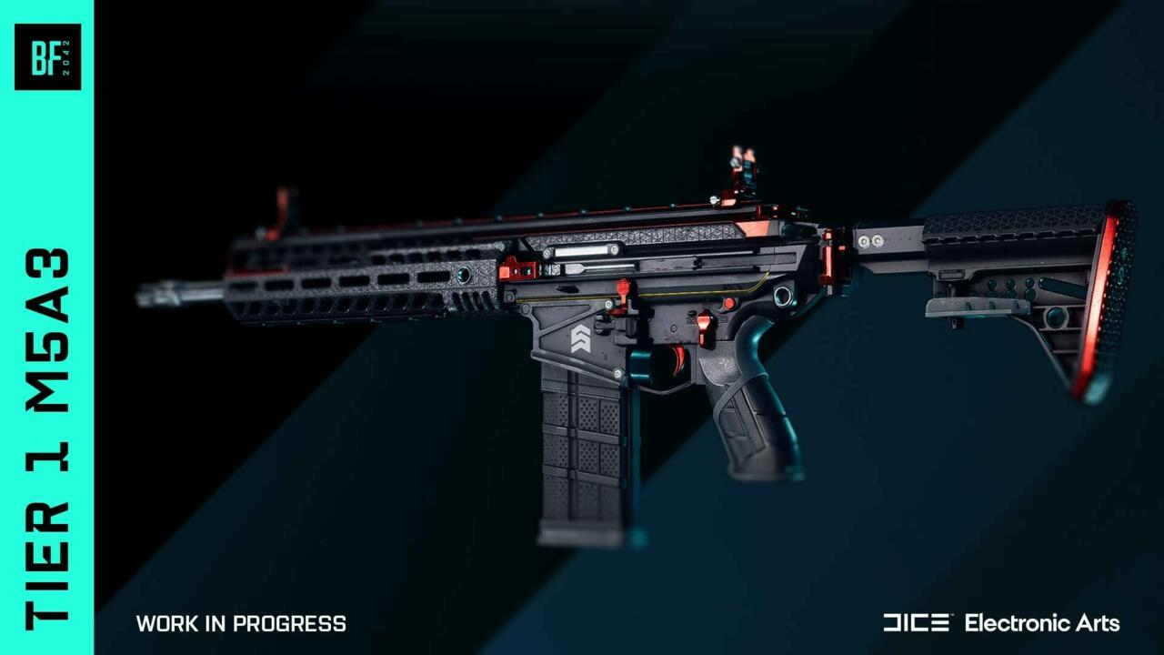 One of the skins that can be unlocked in Battlefield 2042