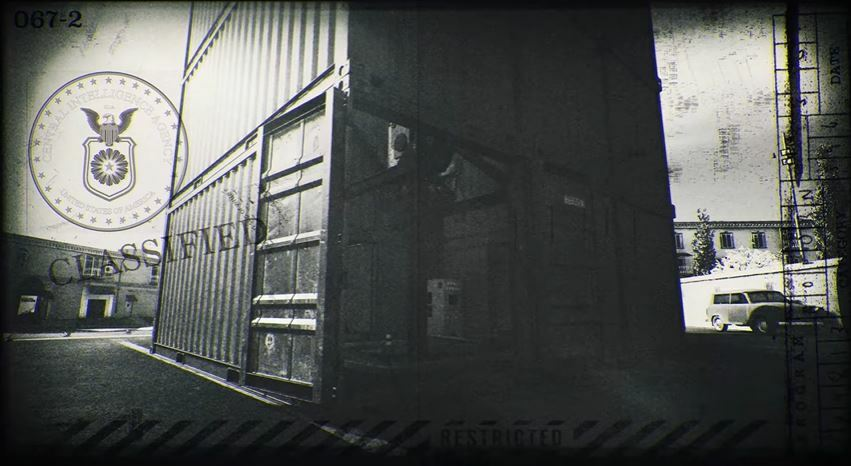 Shipping container image shown in Season 5's outro trailer