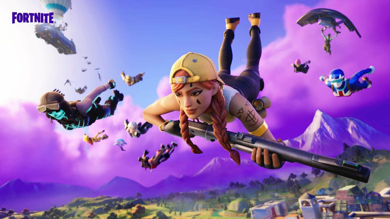 Epic's decision to include Tilted Towers in this image is no accident, but what does it suggest?